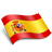 Button linking to Spanish homepage